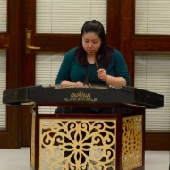 Virginia Liu on the dulcimer